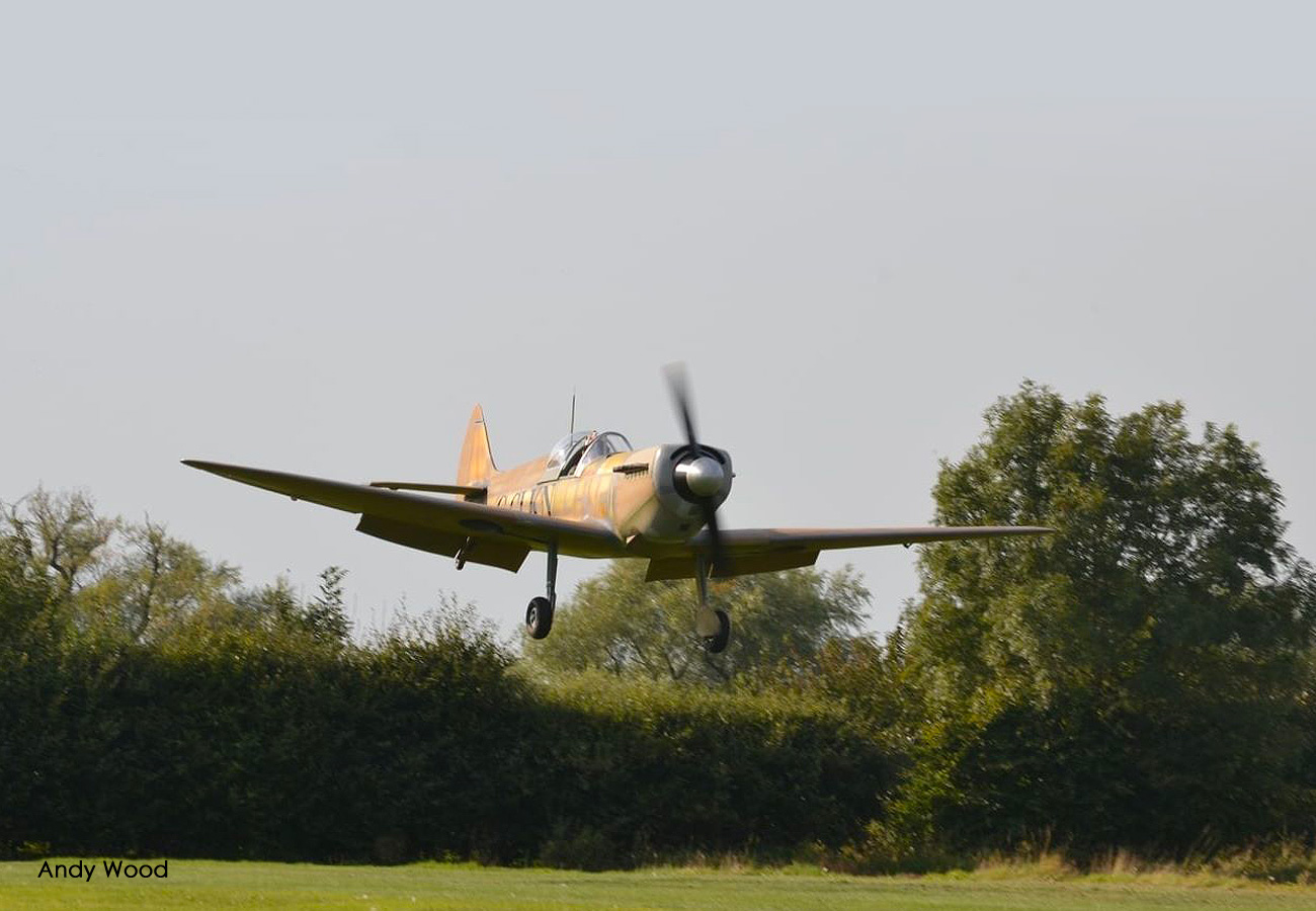 Spitfire Mk26 first flight