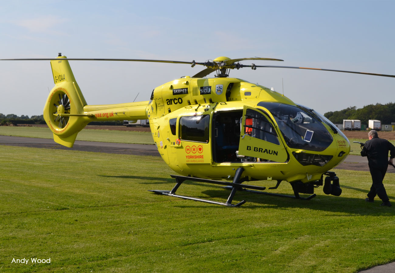 Yorkshire Air Ambulance visit